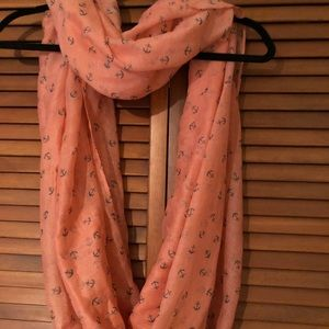 Accessories - Anchor Infinity Scarf